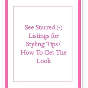 *STYLING TIPS*